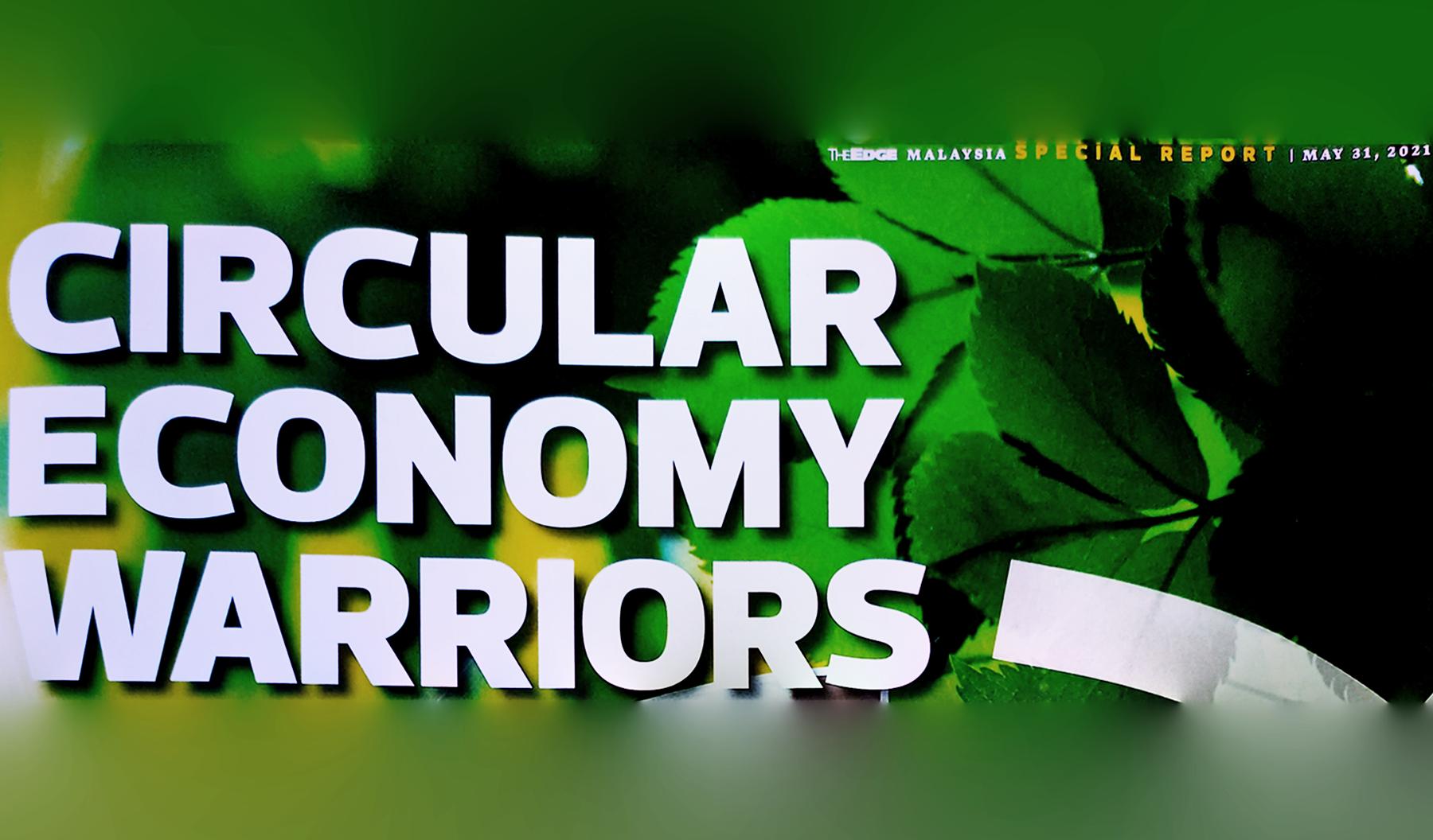 Circular economy warriors-banner
